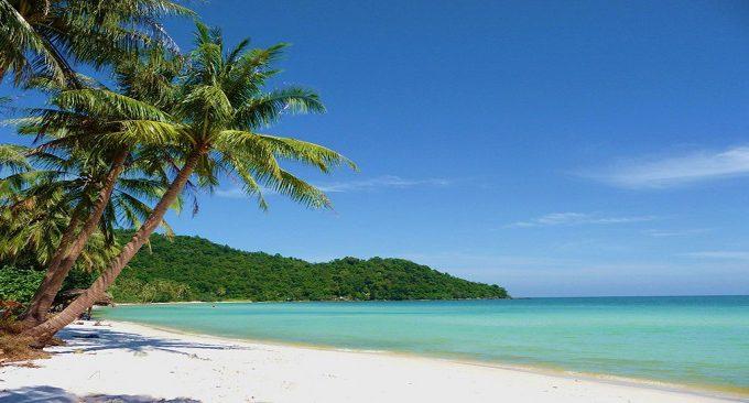 vị trí khách sạn Golden Lotus Đà Nẵng gần bãi biển