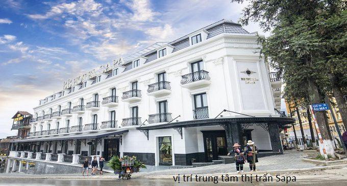 vị trí đẹp của khách sạn u sapa
