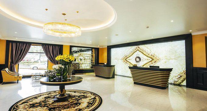 sảnh khách sạn BB
