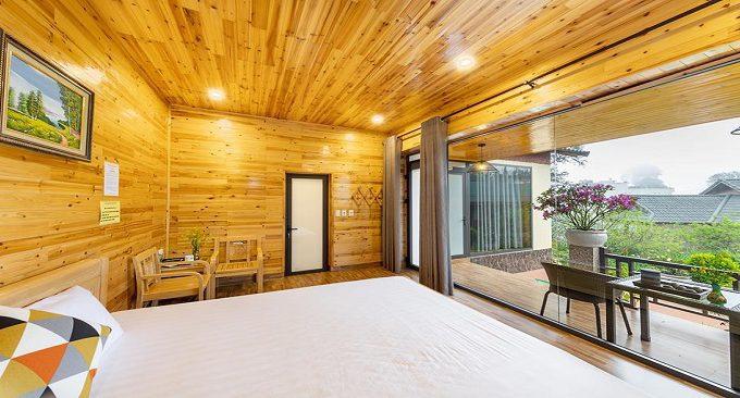phòng nghỉ sapa garden resort