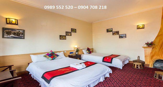 phòng nghỉ khách sạn đặng trung sapa