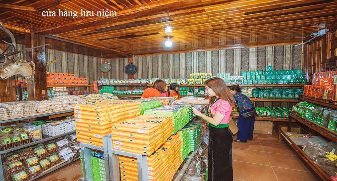cửa hàng đặc sản Mộc Châu