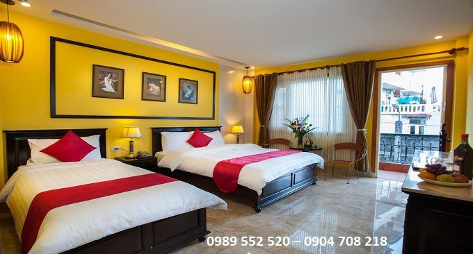 phòng nghỉ khách sạn 3 sao sapa