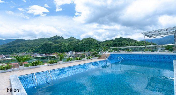 khách sạn có bể bơi ở sapa
