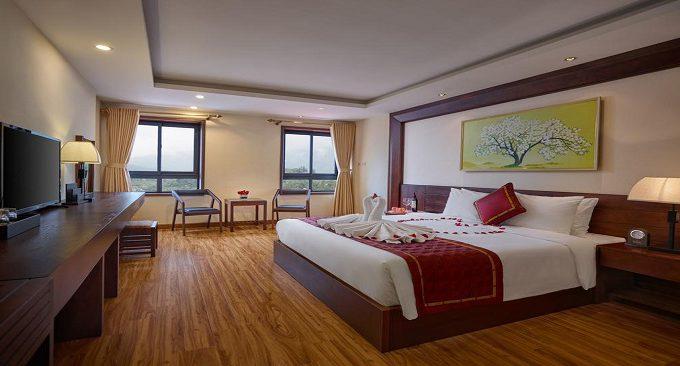 phòng nghỉ khách sạn freesia sapa