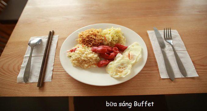 bữa sáng tại ks roxana sapa