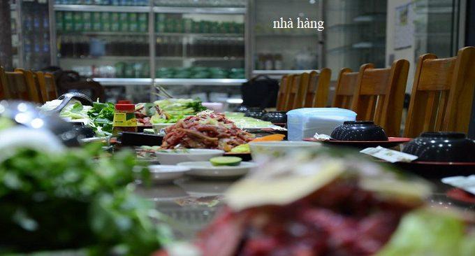 nhà hàng Trường Giang