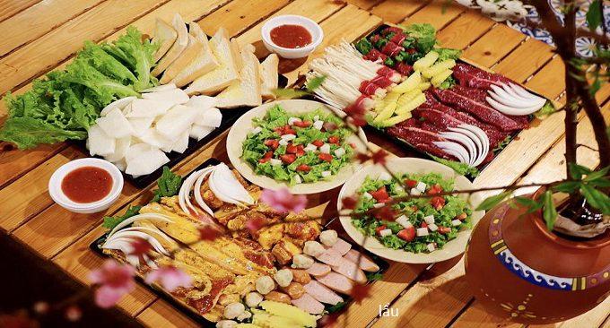 ẩm thực ở the november homestay mộc châu