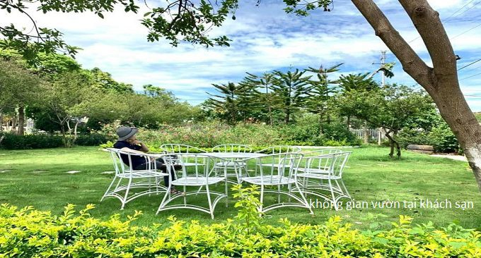 khung cảnh vườn