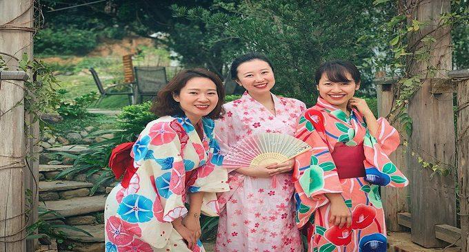 onsen villa tại kỳ sơn hòa bình