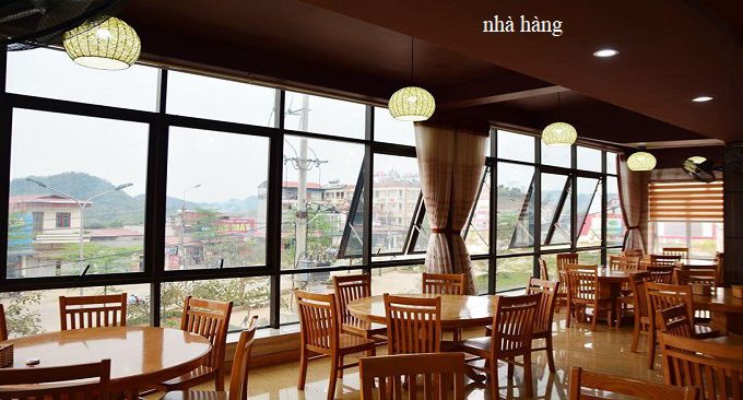 nhà hàng sun hotel mộc châu