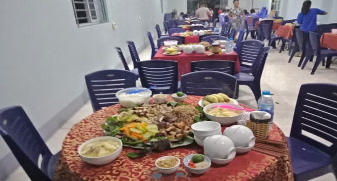ẩm thực nhà hàng Suối Đậu