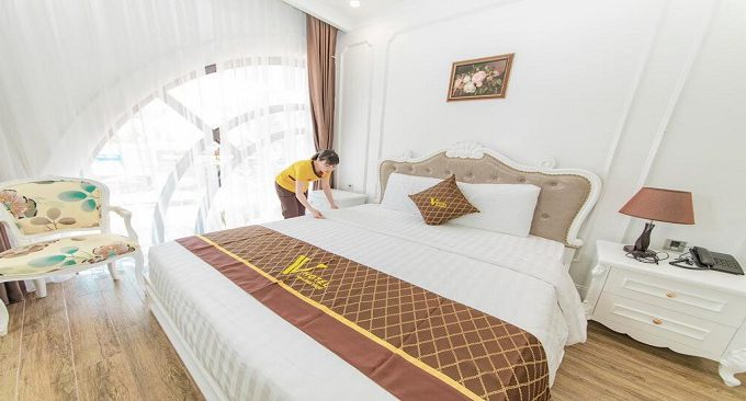 phòng nghỉ halong view hotel