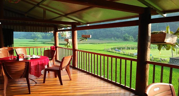 view từ homestay