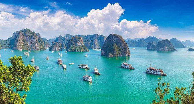 view từ khách sạn hướng Vịnh