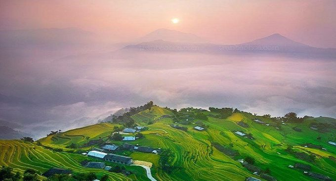 du lịch Hà Giang - săn mây ở Chiêu Lầu Thi
