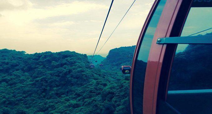 cáp treo chùa Hương