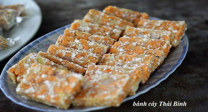 Bánh cáy - đặc sản Thái Bình