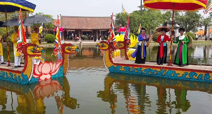 lễ hội chùa Keo
