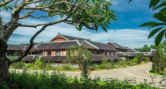 kiến trúc Á Đông khách sạn Bái Đính