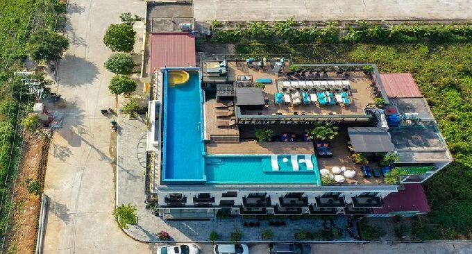 không gian sân thượng lalita boutique hotel & spa