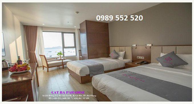 khách sạn cát bà paradise hotel