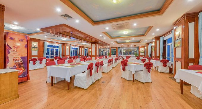 nhà hàng sea pearl hotel cát bà