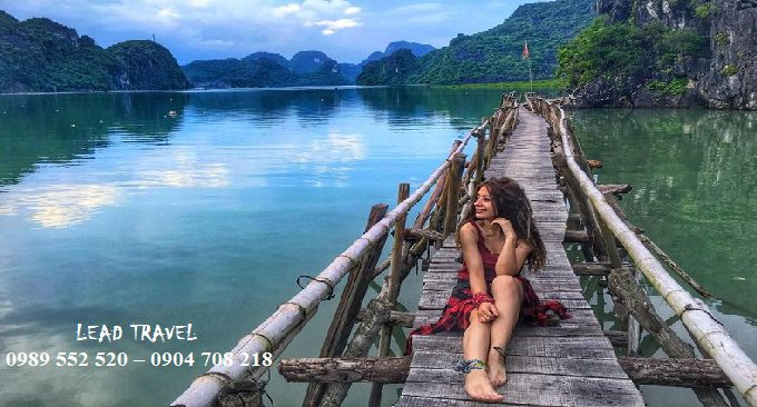 vẻ đẹp Vịnh Lan Hạ hoang sơ