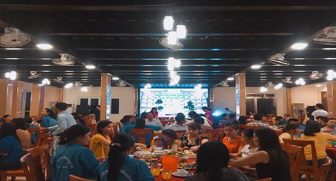 tổ chức sự kiện tại nhà hàng Ánh Dương