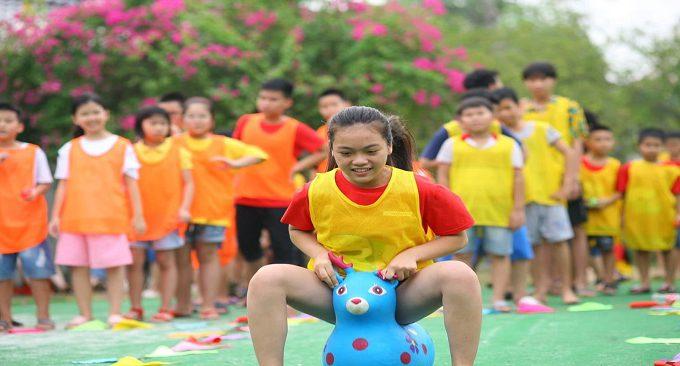 không gian vui chơi dành cho các bé