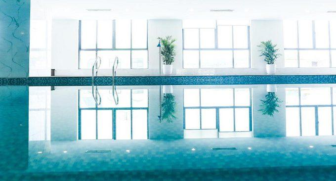 bể bơi khách sạn song lộc luxury hạ long