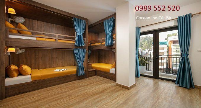 phòng nghỉ giường tầng