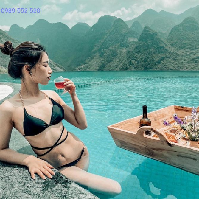 bể bơi h mong village