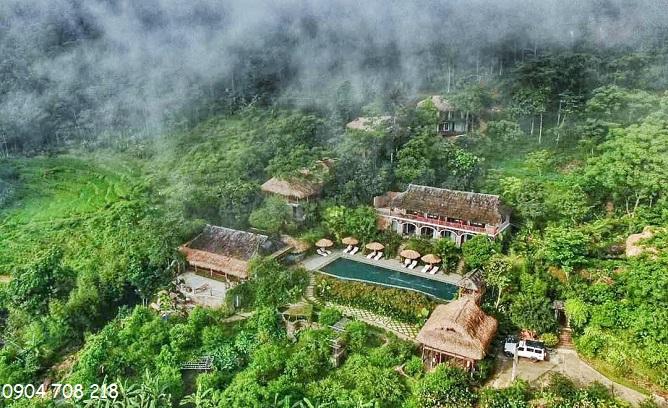 khu nghỉ dưỡng pù luông eco garden