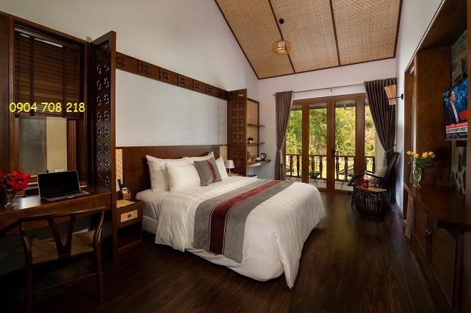 luxury bungalow mai châu mountain view resort