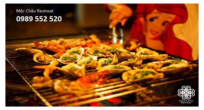 nhà hàng Mộc Châu Retreat