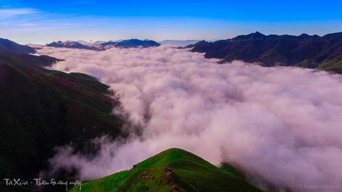 tà xùa thiên đường mây
