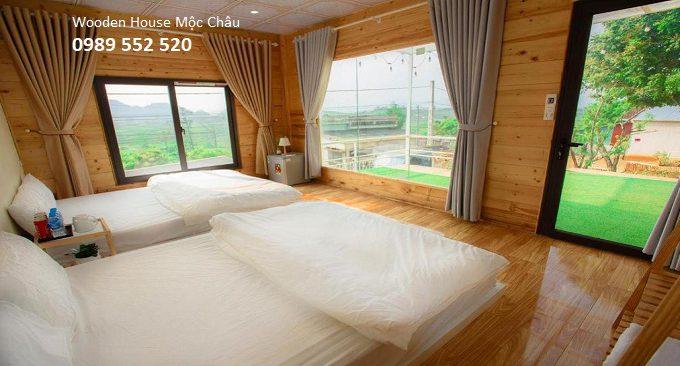 wooden house mộc châu