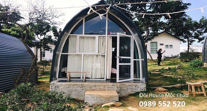 phòng lều ở đồi Mộc Châu