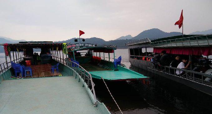 dịch vụ thuê thyền du lịch khám phá Na Hang